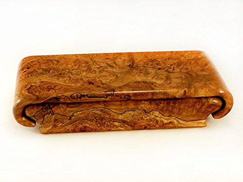 Spalted Maple Burl Box by Wood Box Art