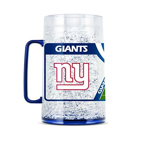 NFL New York Giants 38oz Crystal Freezer Monster Mug (New Giants York Mug)