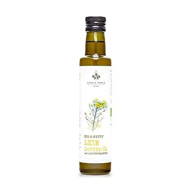 Leindotteröl nativ (bio) - 250 ml Flasche
