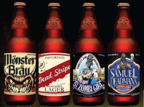Halloween Beer Bottle Stickers (12 (Adult Halloween Sayings)