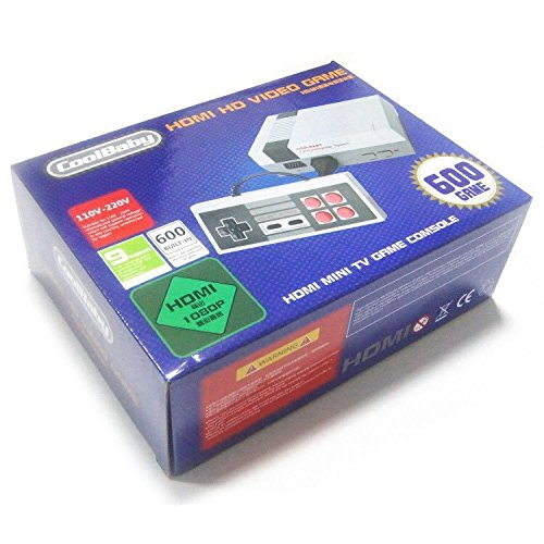 Studyset consoles de jeu de famille classique Système professionnel pour NES Game Player Intégré 600TV Jeu vidéo avec deux contrôleurs