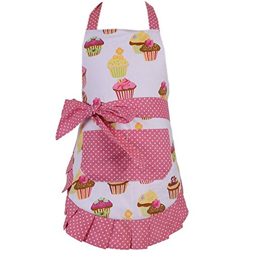 Kirei Sui Kids Cotton Cupcake Kitchen Pink