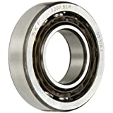 SKF 7207 BEP Light Series Angular Contact Ball Bearing, ABEC 1 Precision, 40° Contact Angle, Maximum Capacity, Open, Polyamide/Nylon Cage, Normal Clearance, 35mm Bore, 72mm OD, 17mm Width