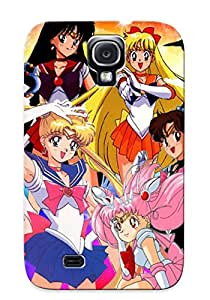 New Premium Ambleihp Sailor Moon Anime Skin Case Cover Excellent Fitted For Galaxy S4
