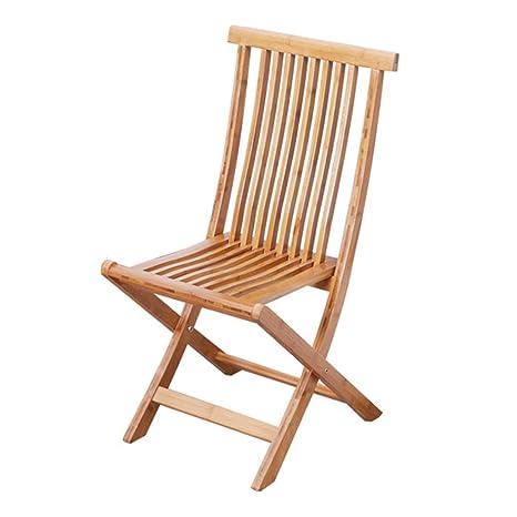 Amazon.com: Taburete de silla plegable, pequeño banco para ...