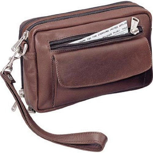 Winn Harness Leather Travel Bag Brown (Winn Harness Leather)