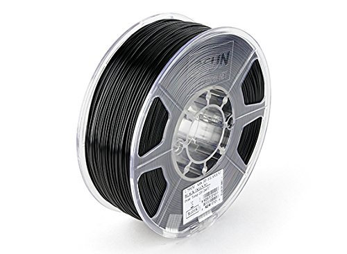ESUN 3D Printer Filament Black 1.75mm ABS 1KG Roll