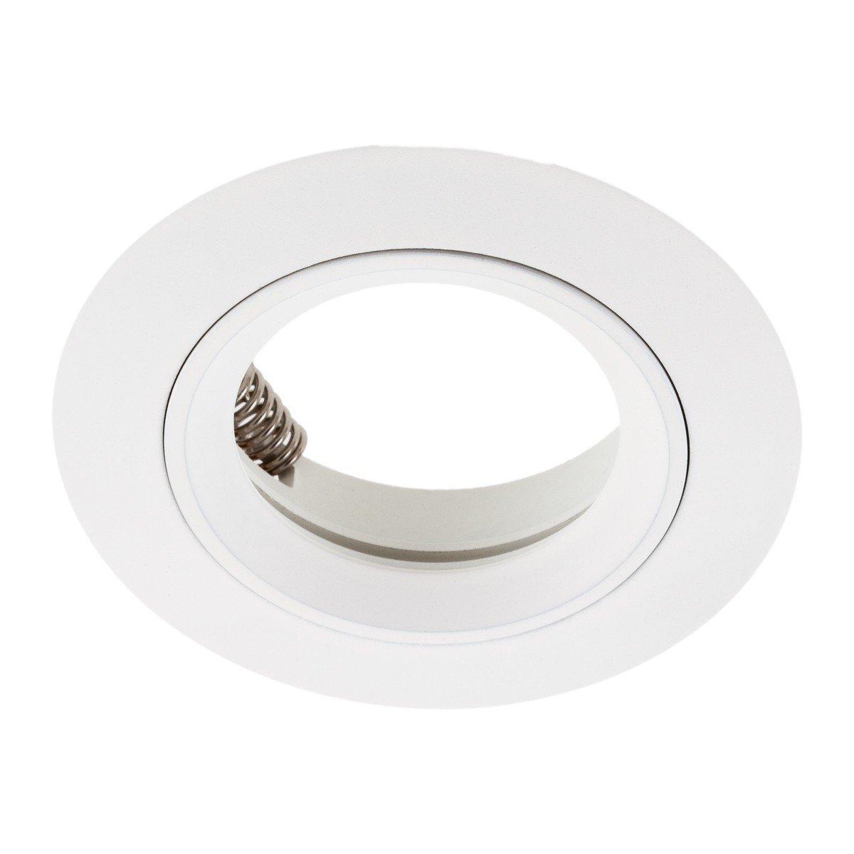 blanc SEBSON 6x Spot encastrable incl Type 7 Aluminium Culot GU10 LED//Halogene
