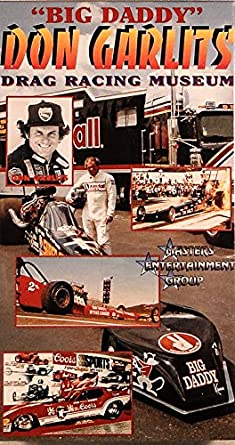 Amazoncom Big Daddy Don Garlits Museum Of Drag Racing VHS Big - Don garlits museum car show