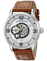 Stuhrling Original Men's 648.01 Legacy Analog Display Automatic Self Wind Beige Watch