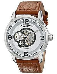 Stuhrling Original Men's 648.01 Legacy Analog Display Automatic Self Wind Beige Watch