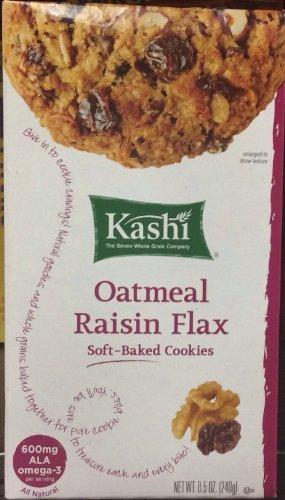 Kashi Oatmeal Cookies (KASHI COOKIE TLC OATML RAISIN F, 8.5 OZ)