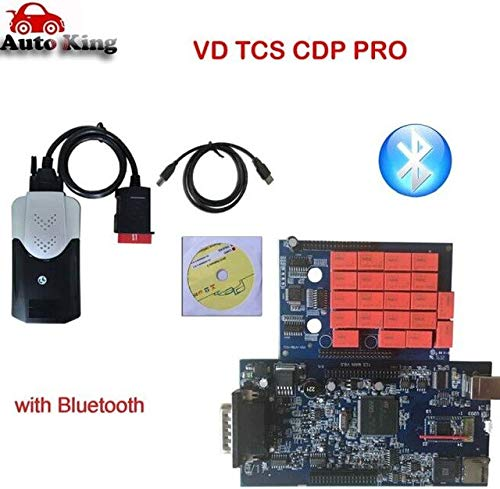 Scan Tools Original 2016 0 Software keygen with Bluetooth vd tcs cdp pro  for vd ds150e cdp Cars Trucks auto OBD obd2 Diagnostic scan Tool - (Color:
