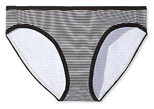 Amazon Essentials Women's Cotton Stretch Bikini Panty, 6-Pack, Basic Assorted, Medium