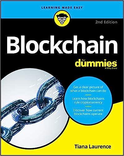 Blockchain For Dummies (For Dummies (Computer/Tech ...
