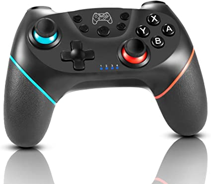 HOPLAZA Mando inalámbrico para Nintendo Switch, Switch Console Controlador Inalámbrico Bluetooth con Turbo, Gyro Axis y Dual Shock Vibration Gamepad para Nintendo Switch & PC: Amazon.es: Electrónica