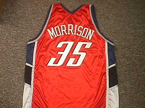 Adam Morrison Charlotte Bobcats Orange Game Jersey