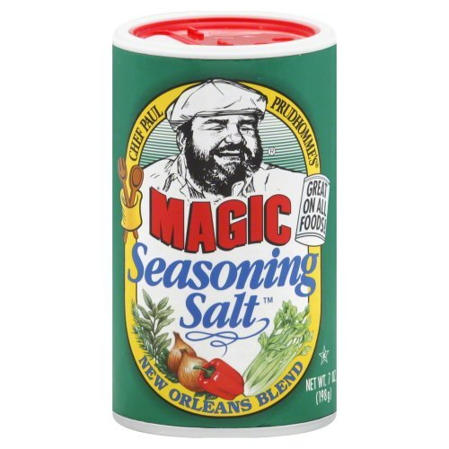 2 Pack: Chef Paul Prudhomme's Magic Seasoning Salt New Orleans Blend -- 7 oz ()