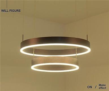 Moderne Kronleuchter Bilder ~ Zwei kreis kreative ring moderne kronleuchter einfache led ring