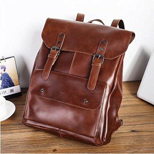 Leather Shoulder United Men' Wind And Retro Bags Men S Casual Bag States Europe The A1 a2 's Bag College 5PqtwO