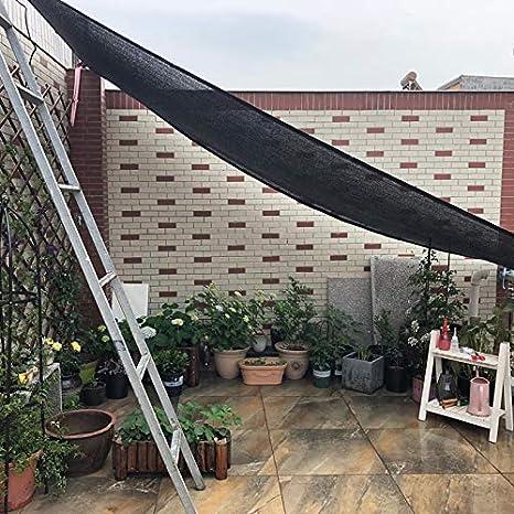 XLCZ Vela de Sombra Rectangular/Vela toldo protección Rayos/toldo Vela Transpirable/pañuelo Negro de tamaño Original para casa de jardín para pérgola: Amazon.es: Hogar