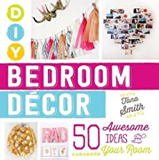 Turn your dream bedroom into a reality!Written by popular YouTube style expert Tana Smith, DIY Bedroom Decor teaches you how to personalize your space with all your favorite looks. From an Ombre Painted Canvas and Ribbon Chandelier to Chalkboard Fram...