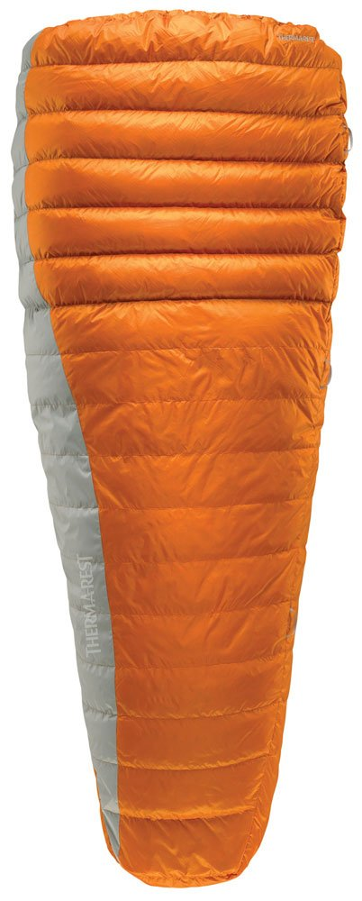 Schlafsack Daune Navis 25/45F Convert Bag Orange Regular