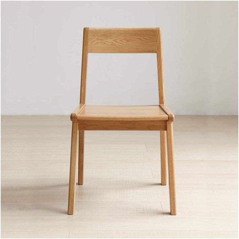 WYQSZ Silla Japonesa de Madera Maciza, sillas Simples de