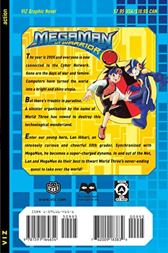 MegaMan NT Warrior, Vol. 1 by SQUARE PERFECT (Image #1)