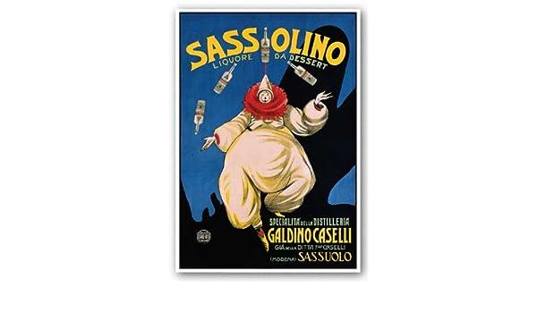 ADVERTISING ART PRINT Sassolino Leonetto Cappiello