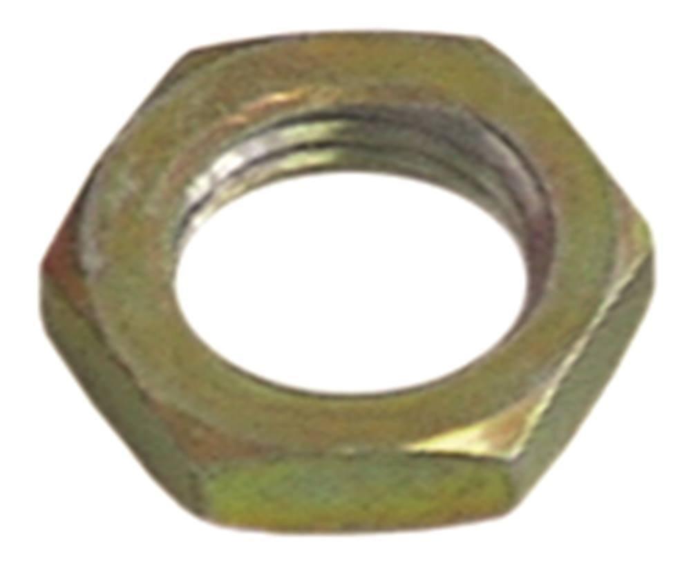Mutter Gewinde M12x1 SW 16 VPE 1 St/ück Stahl verzinkt H/öhe 4mm