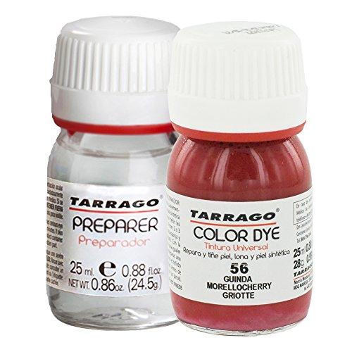 Tarrago Self Shine Color Dye and Preparer 25Ml. Morello cherry #56 (Shine Cherry)