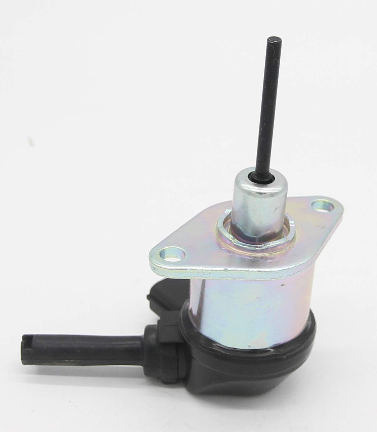 Hong Hui 1A021-60017 1A021-60010 1A021-60015 Stop Solenoid Valve 12 Volt Replacement for Kubota V2203 V2403-M Bobcat AL275 S205 Schaffer 3350 Fuel Shut Off