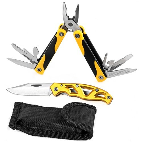 Tradespro Trades Pro 837499 Multi-Tool and Folding Knife, 2 Piece Set 2 Piece Folding Knife Set