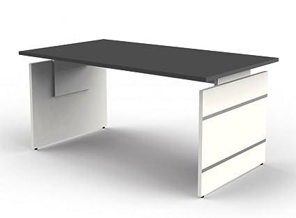 kerkmann 4426.1 Extremos de escritorio forma 4, color wengué ...