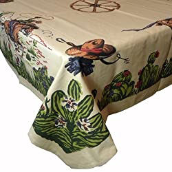 western tablecloth