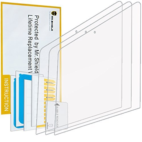 Mr Shield For The New MacBook 12 Inch Retina (2015/2016/2017) Anti-Glare [Matte] Screen Protector [3-PACK] with Lifetime Replacement Warranty