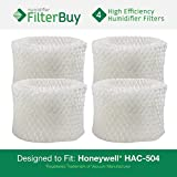 4 - Honeywell HAC-504 Humidifier Filters. Designed by FilterBuy to fit Honeywell HCM-600, HCM-710, HCM-300T & HCM-315T. Compare to Part # HAC-504AW.
