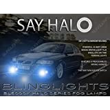 Non-Halo Fog Lamps Driving Lights Compatible With 2004-2007 Volvo S60R S60-