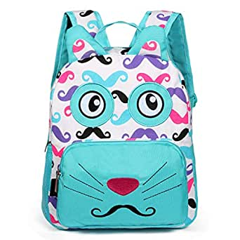 Little-Sweet Kid Toddler Backpack Baby Boys Girls Pre School Bags Cute Cartoon Backpacks for Children 2-5 Years Old (Cat-1)