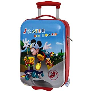 TROLLEY DE VIAJE, DISEÑO DE SKATER MICKEY ON BOARD CM, 45 X 30 X 20 4011351 2/ABS