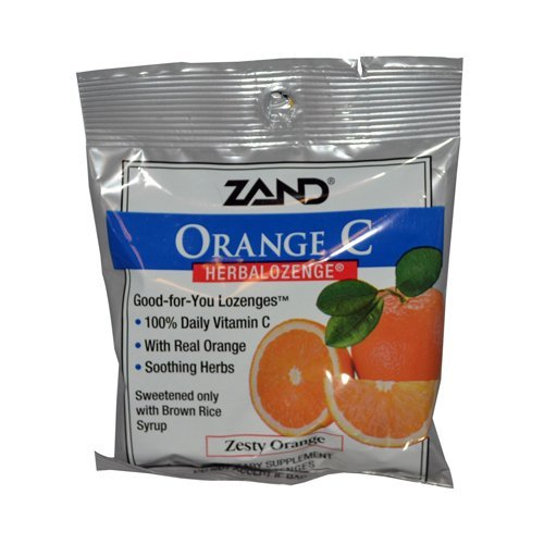 (New - Zand HerbaLozenge Orange C Natural Orange - 15 Lozenges - Case of 12 by Immune System)