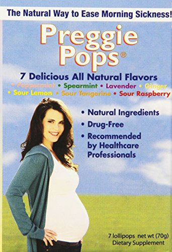 Three Lollies Preggie Pops Lollipops Variety Pack for Morning Sickness Relief, 3 Count (Able Peppermint Shampoo)