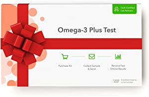 EverlyWell - at Home Omega Plus Kit -Experiencing Brain Fog or Fatigue? Abnormal Omega Levels May be The Reason (Not Available in NJ, NY, and RI)