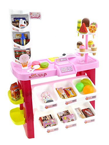 PowerTRC Luxury 40 Piece Dessert Shop Play-Set