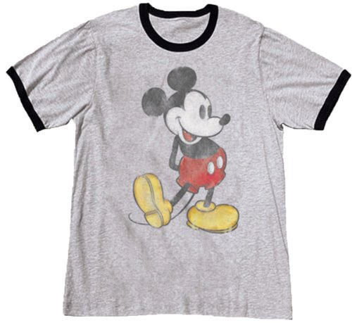 Disney Boys Mickey Mouse Classic T Shirt, Large