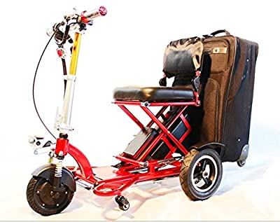 """Triaxe Sport Foldable Scooter - Color Metallic Red - 13"""" Seat Width"""