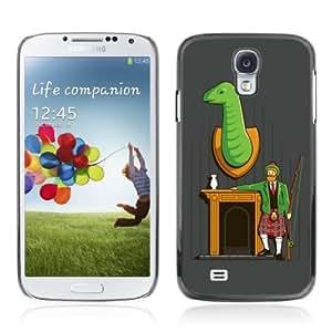 YOYOSHOP [Funny Hunter Illustration] Samsung Galaxy S4 Case Kimberly Kurzendoerfer
