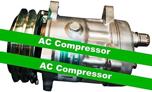 GOWE compresor de CA para Sanden SD7H15 Modelo S8264 AC Compresor con embrague. R134a. 24V. 7 Pistón. Compresor de aire acondicionado de 150 cc