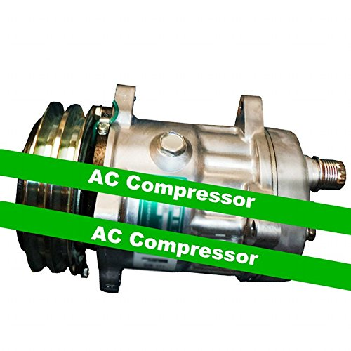 GOWE AC Compresor para Sanden SD7H15 modelo s8264 AC Compresor con embrague. R134 a. 24 V. 7 Pistón. 150 cc aire acondicionado ac compresor: Amazon.es: ...